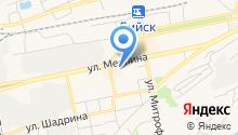 Алтайская недвижимость-Бийск на карте