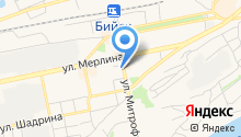 Алтайское Раздолье на карте