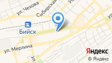 Аникс на карте