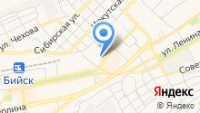 Алтайский государственный гуманитарно-педагогический университет им. В.М. Шукшина на карте