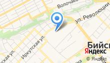 Алтайская торговая компания на карте
