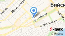 Алтай-лэнд на карте