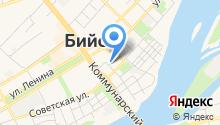 Алтай Турист на карте