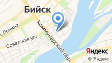 Алтайский бальзам на карте