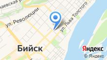 Алтайская жемчужина на карте