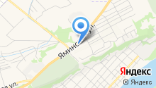 Яминский дворик на карте