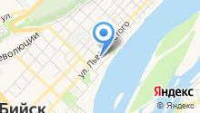 Алтайский учколлектор на карте