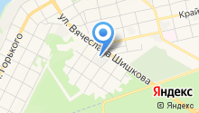 Автомойка на Крестьянской на карте