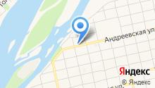 Аэлита на карте