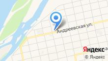 АЗС Ника на карте