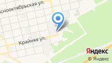 Амадин на карте