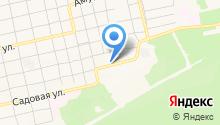 Амурский на карте