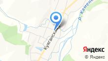 Дресвяный на карте