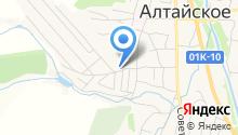 Атлант на карте