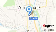 Меховик на карте