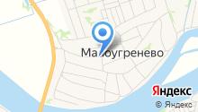 Чибис на карте