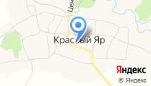 Красноярская средняя общеобразовательная школа, МБОУ на карте