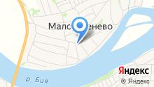 Администрация Малоугреневского сельсовета на карте