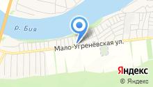 Автомастерская на Малоугренёвской на карте