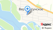 Катунская гидрогеологическая партия на карте