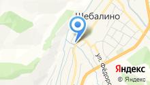 Отдел Военного комиссариата Республики Алтай по Шебалинскому району на карте