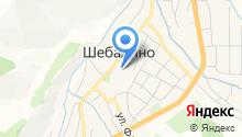 Алтынсай на карте