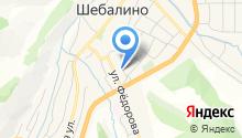 Успенская церковь с. Шебалино на карте