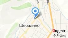 Таежник на карте