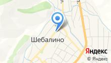 Чечек на карте