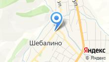 Белка на карте