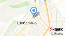 Отделение полиции №3 по Шебалинскому району на карте