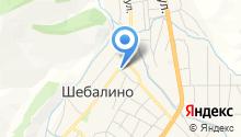 Управление пенсионного фонда РФ в Шебалинском районе на карте