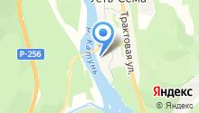 Шапокляк на Катуне на карте