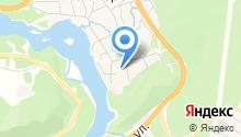 Манжерокская средняя общеобразовательная школа, МБОУ на карте