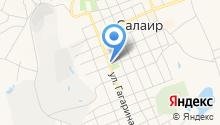 Администрация Салаирского городского поселения на карте