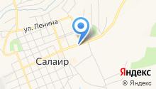 Новосибирская птице фабрика на карте