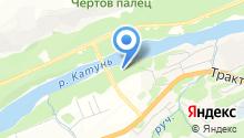 Катунь-Парк на карте