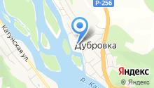 Дубровка на карте