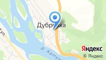 Дубровская начальная общеобразовательная школа, МБОУ на карте
