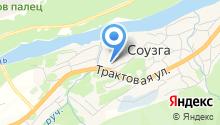 Соузгинский мясозаготовительный комбинат на карте