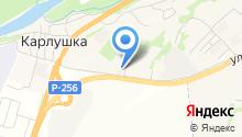 АЗС Алтайтранснефть на карте