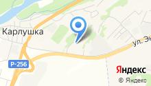 Руслана на карте