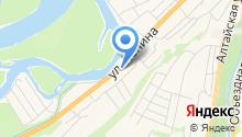Алтай-тур на карте