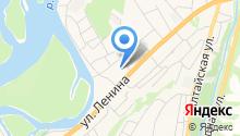 Майминская средняя общеобразовательная школа №2, МБОУ на карте