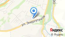 Алтайкедр на карте