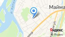 Майминская РБ, БУЗ РА на карте
