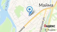 Майминский межрайонный следственный отдел Следственного Управления Следственного комитета РФ по Республике Алтай на карте