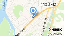 Майминская средняя общеобразовательная школа №2 на карте