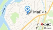 Майминская средняя общеобразовательная школа №3 им. В.Ф. Хохолкова на карте