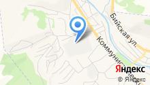 Горно-Алтайская Специализированная Передвижная Механизированная Колонна на карте